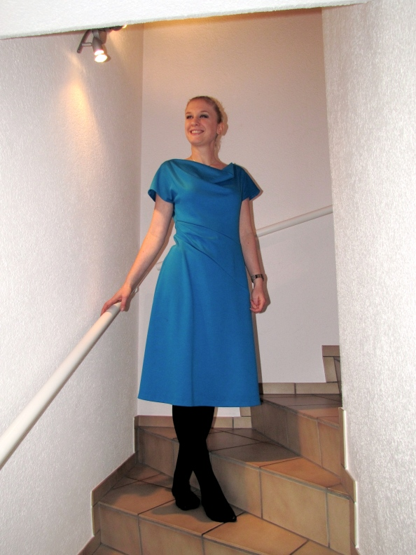 Eva Dress II - December cowl dress II