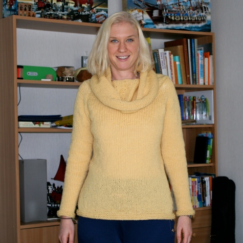 Yellow Idlewood - long sleeved, obviously